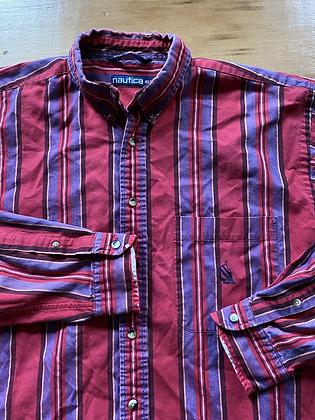 Vintage  Nautica Striped Shirt