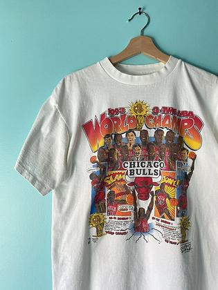Vintage Salem 1993 Bulls Championship T-Shirt