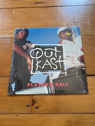 "1993 12"" Outlast 'Players Ball' Vinyl"