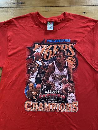 Vintage 2001 76ers T-Shirt