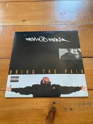 "1994 Method Man 'Bring the Pain' and P.L.O.' 12"" Vinyl"