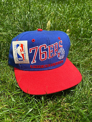 Vintage New Old Stock 76ers Hat