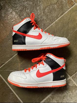 2015 Nike ID Dunk High 'Wolf and Bear'