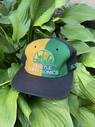 Vintage New Old Stock Starter Seattle SuperSonics Snapback