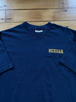 Vintage Michigan Embroidered T-Shirt
