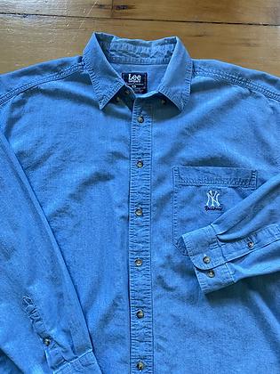 Vintage Yankees Button Down Shirt