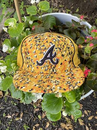 Vintage 2000's New Era Atlanta Braves Hat Size 7 1/8