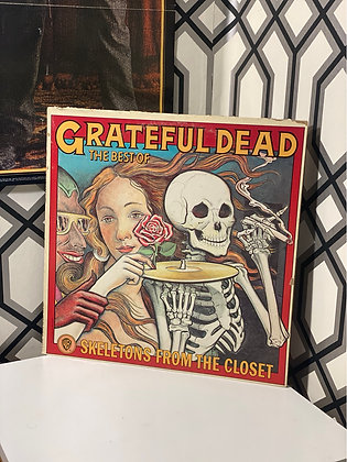 1974 Grateful Dead 'Best Of Skeletons From The Closet'  Vinyl