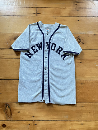 Vintage 1960's New York Empire Union Made Jersey