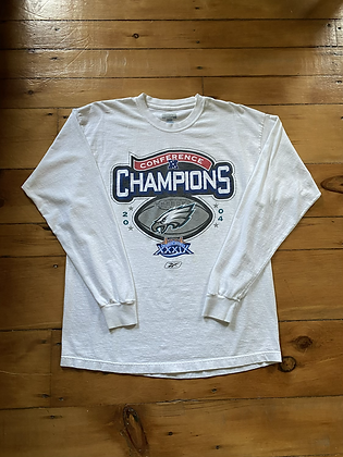 2004 Eagles Long Sleeve T-Shirt