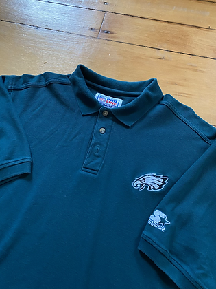Vintage Starter Pro Line Eagles Polo Shirt