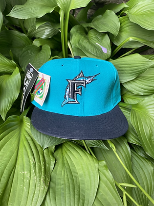 Vintage New Old Stock Florida Marlins New Era Fitted