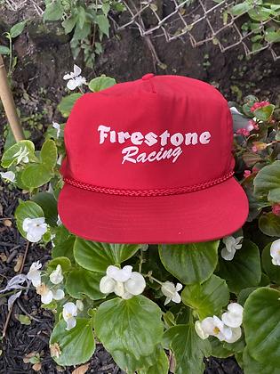 Vintage Firestone Racing Rope Snapback