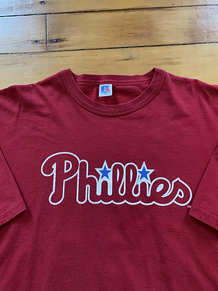 Vintage Russell Athletic Phillies Jim Thome T-Shirt