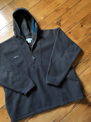 Vintage Columbia Made in USA Fleece Anorak