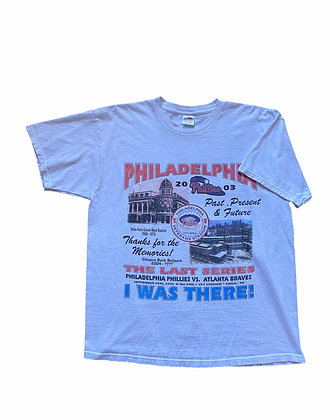 2003 Phillies vs Braves Last Series at the Vet T-Shirt