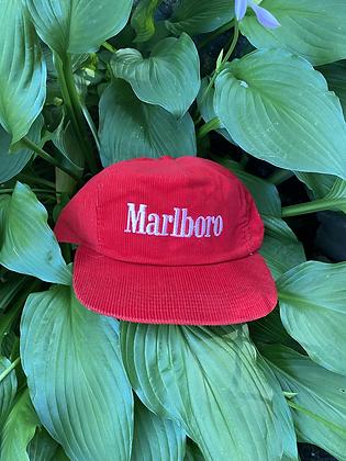 Vintage Corduroy Marlboro Snapback