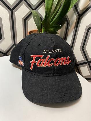 Vintage Atlanta Falcons Script Snapback Hat