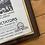 Thumbnail: Vintage The Dictators Punk Poster Framed