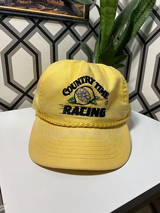 Vintage 80's Country Time Racing Lemonade Promo Snapback