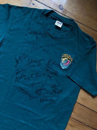 Vintage 1996 Gateful Dead x Lithuania Team Signed T-Shirt