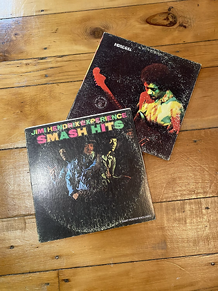 Lot of 2 Vintage Jimi Hendrix Vinyls