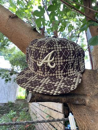 Vintage 2000's New Era Atlanta Braves Hat Size 8
