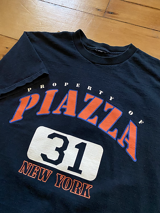 Vintage Mike Piazza Mets T-Shirt