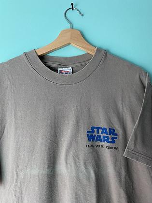 Vintage 1999 Star Wars Phantom Menace Visual Effects Crew T-Shirt