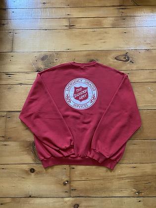 Vintage Salvation Army Crewneck Sweatshirt