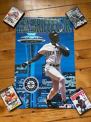 Brand New Vintage 1996 Ken Griffey Jr. Poster