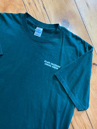 Vintage Alan Jackson Concert Crew T-Shirt