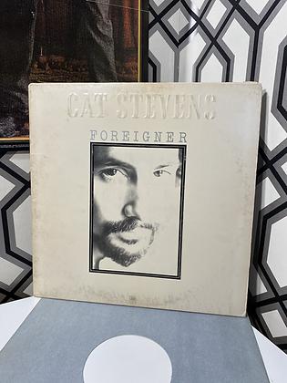 Vintage Cat Stevens 'Foreigner' Vinyl Album