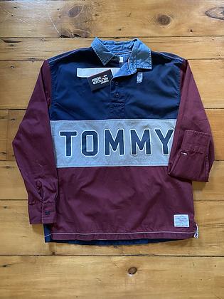New Tommy Hilfiger Quarter Button Shirt