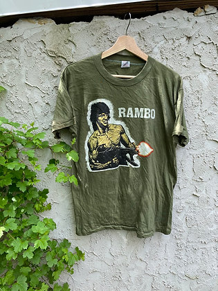 Vintage New Old Stock 1982 Rambo Promo T-Shirt