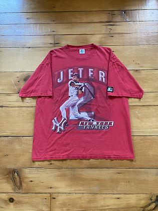 Vintage 1998 Starter New York Yankees Derek Jeter T-Shirt