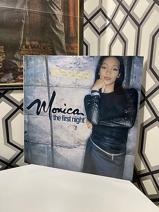Vintage 1995 Monica 'the first night' vinyl single