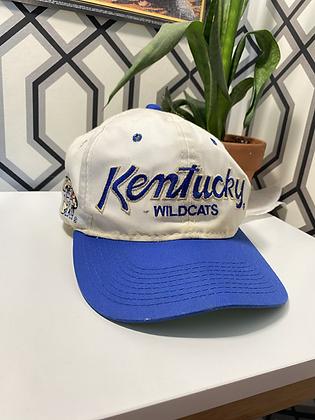 Vintage Sports Specialties Kentucky Wildcats Script Snapback