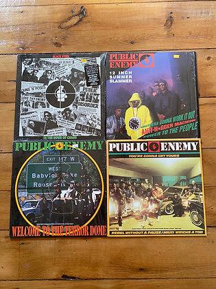 Bundle of 4 Orginal Public Enemy Vinyls
