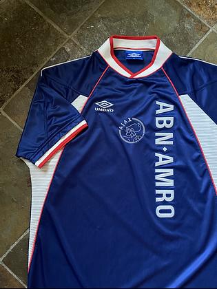 Vintage Umbro Ajax Soccer Jersey