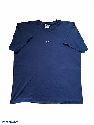 Vintage 90's Nike Embroidered Logo T-Shirt