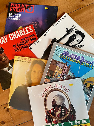 Muster Vinyl Box of 3 (Rare)