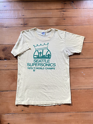 Vintage 1979 Seattle SuperSonics World Champs T-Shirt