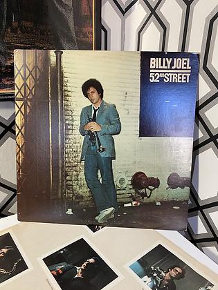 Vintage Billy Joel 52nd Street Vinyl