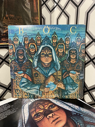 Vintage Blue Oyster Cult 'Fire of Unknown Origin' Vinyl
