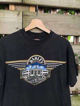Vintage 1992 Harley Davison Pennsylvania T-Shirt