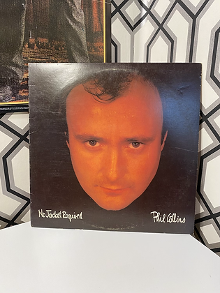 Vintage Phil Collins 'No Jacket Required' Vinyl