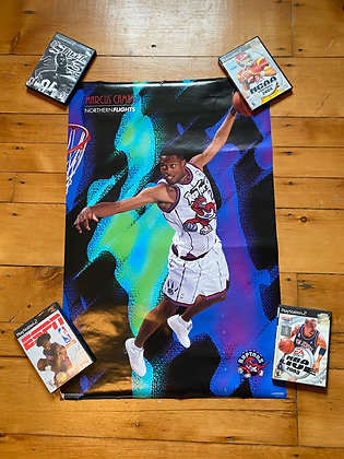 1996 Marcus Camby Raptors Poster