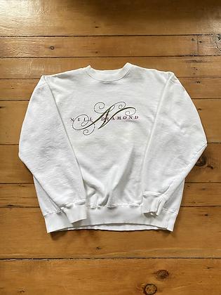 Vintage 1993 Neil Diamond Promo Crewneck Sweatshirt