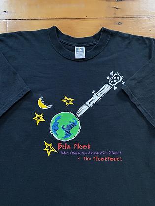 Vintage Bela Fleck and The Flecktones Promo T-Shirt
